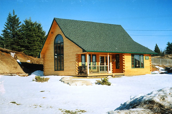 Log home plans alberta canada house design plans for Garage packages nova scotia